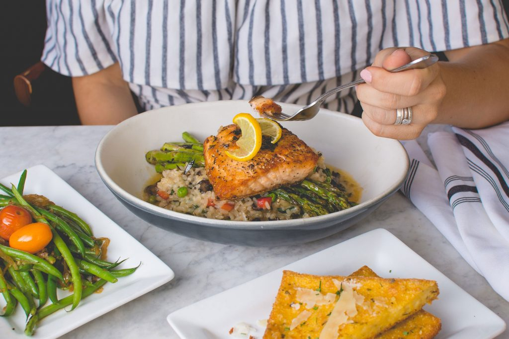 salmon-and-risotto